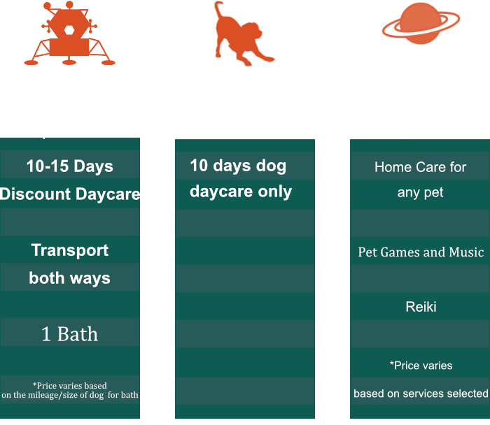 Services pricing